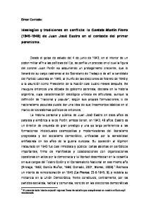 Ideologías y tradiciones en conflicto: la Cantata Martín Fierro ( ) de Juan José Castro en el contexto del primer peronismo