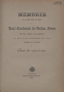 I^eal Academia de Bellas Artes