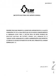 IEDF DEL DISTRITO FEDERAL INSTITUTO ELECTORAL DEL DISTRITO FEDERAL