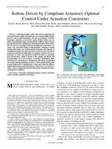 IEEE TRANSACTIONS ON ROBOTICS, VOL. 29, NO. 5, OCTOBER
