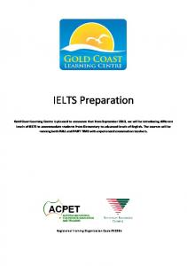 IELTS Preparation. Registered Training Organization Code #32285