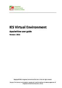 IES Virtual Environment