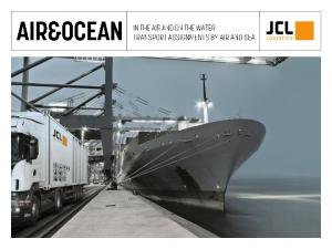 IF YOU CAN THINK IT, WE CAN DO IT JCL LOGISTICS