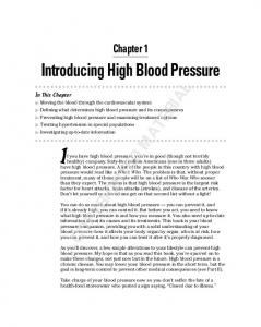 If you have high blood pressure, you re in good (though not terribly