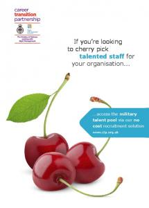 If you re looking to cherry pick talented staff for your organisation