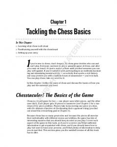 If you re new to chess, don t despair. No chess gene decides who can and