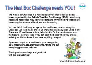 If you want to put up a nest box in your own garden, go to  to find out everything you need to know