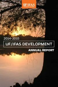 IFAS DEVELOPMENT ANNUAL REPORT