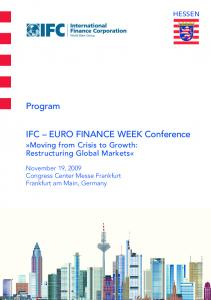 IFC EURO FINANCE WEEK Conference