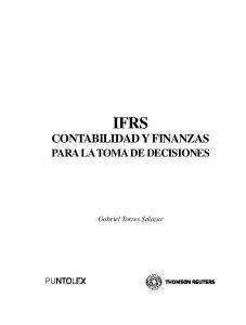 IFRS CONTABILIDAD Y FINANZAS PARA LA TOMA DE DECISIONES