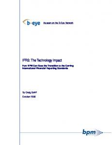 IFRS: The Technology Impact