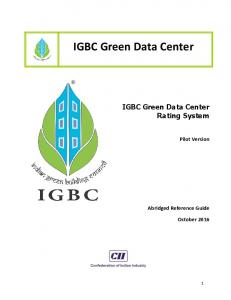 IGBC Green Data Center