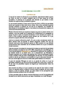Ignacio Ramonet. Le monde diplomatique, marzo de El conflicto en Irak