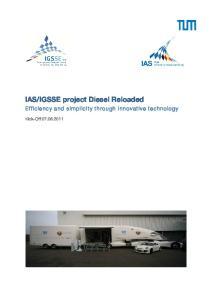 IGSSE project Diesel Reloaded