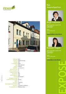 Ihre Ansprechpartner. Birgit Peterseim. Susanne Wagner. PEWA immobilien-mandat GbR Hammerweg Erfurt. Mobil +49(151)