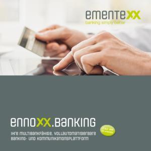 Ihre multibankfähige, vollautomatisierbare Banking- und Kommunikationsplattform. Cloud oder On-Premise