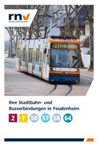 Ihre Stadtbahn- und Busverbindungen in Feudenheim