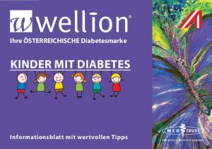 Ihre ÖSTERREICHISCHE Diabetesmarke KINDER MIT DIABETES. Informationsblatt mit wertvollen Tipps