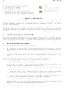 II. ANALISIS DE MERCADO