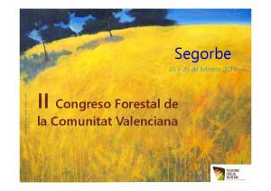 II Congreso Forestal de