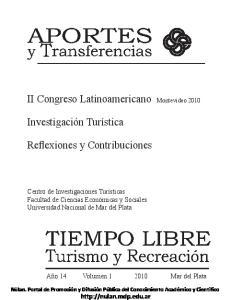 II Congreso Latinoamericano Montevideo Reflexiones y Contribuciones