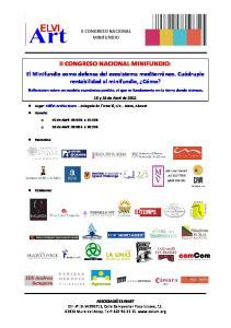 II CONGRESO NACIONAL MINIFUNDIO: