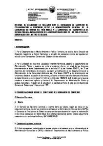II. CONSIDERACIONES SOBRE EL CONTENIDO DEL BORRADOR DE CONVENIO