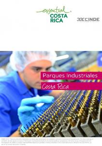 II. I. Parques Industriales