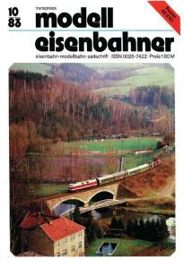 II iiiodall. eisenbahn-modellbahn-zeitschrift ISSN Preis 1.80 M