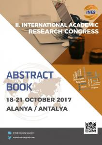 II. INTERNATIONAL ACADEMIC RESEARCH CONGRESS ABSTRACTS BOOK