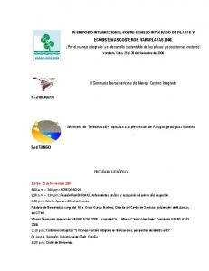 II Seminario Iberoamericano de Manejo Costero Integrado. Red IBERMAR