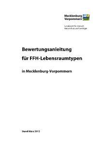 II. VERFAHREN DER BEWERTUNG DER FFH-LEBENSRAUMTYPEN. 1. Kartierung und Bewertung von FFH-Lebensraumtypen