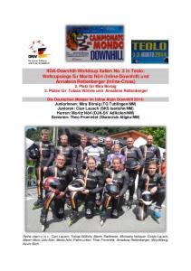 IIDA- Worldcup Inline Downhill
