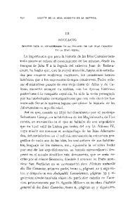 III. BOCCACIO. FUENTES PARA EL CONOCIMIENTO DE LA HISTORIA DE LAS ISLAS CANARIAS EN LA EDAD MEDIA