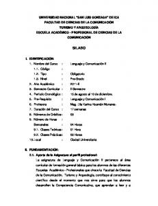 III. COMPETENCIA DE LA ASIGNATURA: