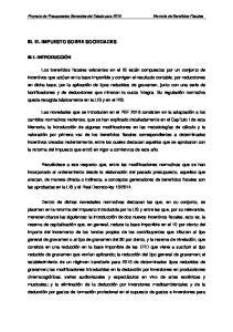 III. EL IMPUESTO SOBRE SOCIEDADES
