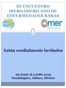 III ENCUENTRO IBEROAMERICANO DE ENFERMEDADES RARAS