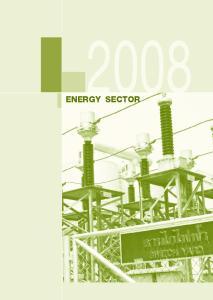 III. ENERGY SECTOR. 1. Electricity ENERGY SECTOR