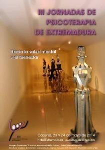 III JORNADAS DE PSICOTERAPIA DE EXTREMADURA