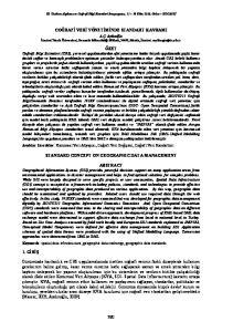 III. Uzaktan Alg lama ve Co rafi Bilgi Sistemleri Sempozyumu, Ekim 2010, Gebze KOCAEL