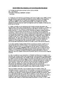 IIRSA, Plan Colombia y el Eje de Desarrollo Occidental