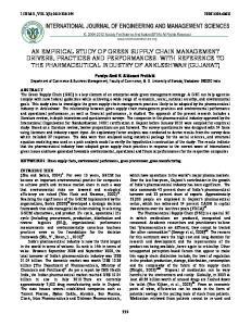 I.J.E.M.S., VOL.3(3) 2012: ISSN X