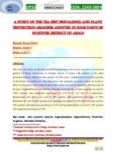 IJPSS Volume 2, Issue 7 ISSN: