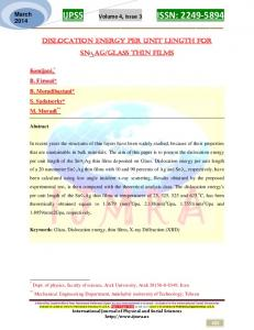 IJPSS Volume 4, Issue 3 ISSN: