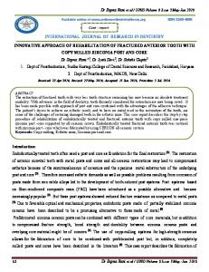 IJRID Volume 6 Issue 3 May-Jun 2016 INTERNATIONAL JOURNAL OF RESEARCH IN DENTISTRY