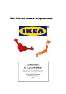 Ikea s failure and success on the Japanese market