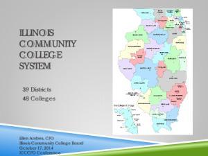 ILLINOIS COMMUNITY COLLEGE SYSTEM