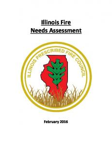Illinois Fire Needs Assessment