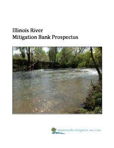 Illinois River Mitigation Bank Prospectus