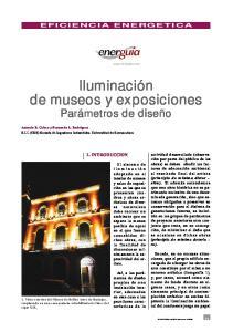 Iluminación de museos y exposiciones